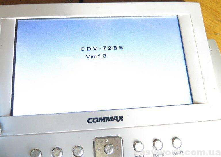 Оболочка видеопамяти домофона COMMAX CDV-72BE