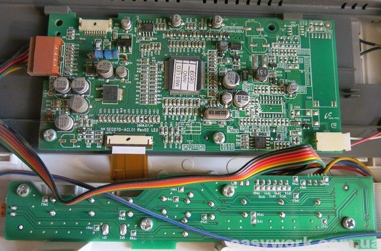 Плата дисплея COMMAX CDV-72BE