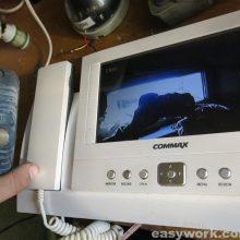 Ремонт домофона COMMAX CDV-72BE (не включается)