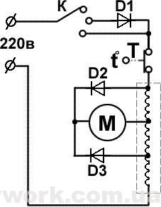 Схема устройства фена CLATRONIC HTD 3055