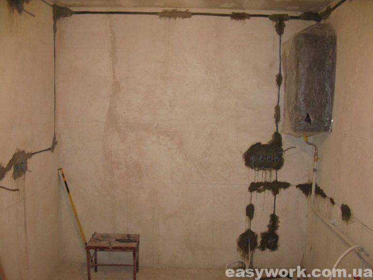Прокладка электропроводки на кухне (фото 2)