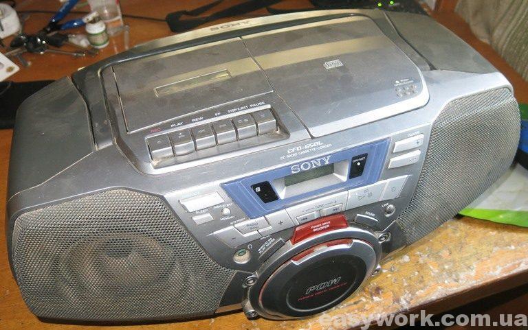 Магнитофон (бумбокс) Sony CFD-G50L