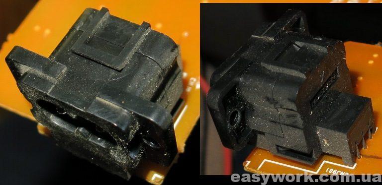 Сетевой разъем магнитофона Sony CFD-G50L