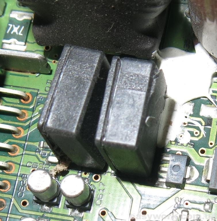 Вышедший из строя ионистор (фото 2)