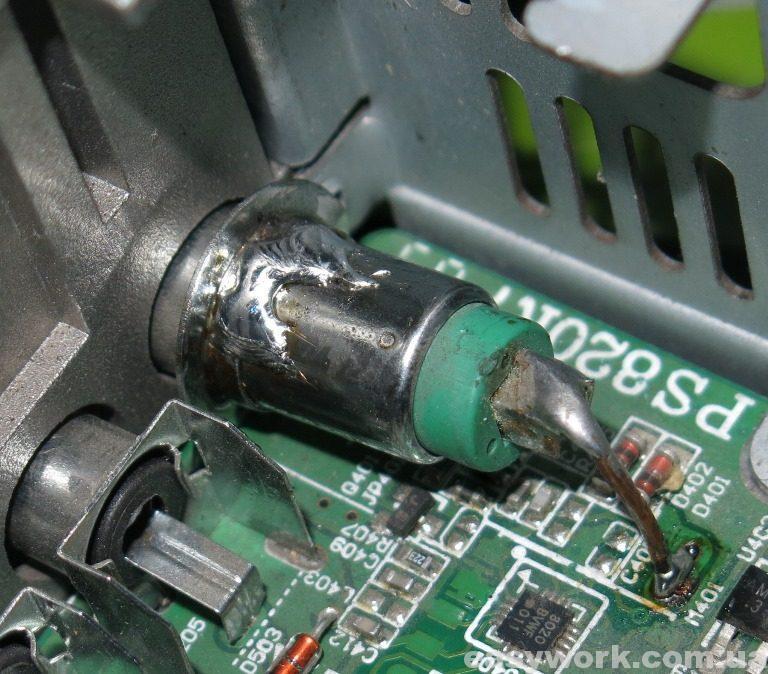 Антенный разъем магнитолы SONY HS-D832