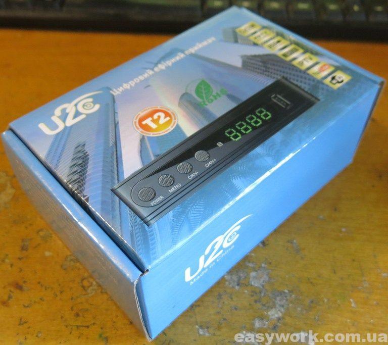 Коробка Т2 приемника U2C T2 HD