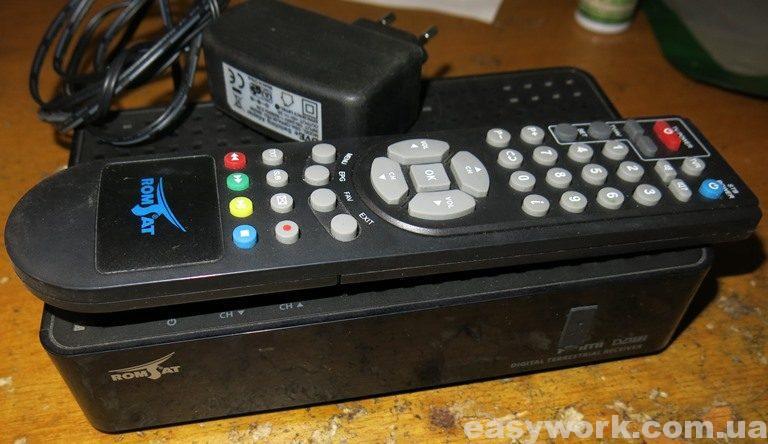 Т2 ресивер Romsat RS-300