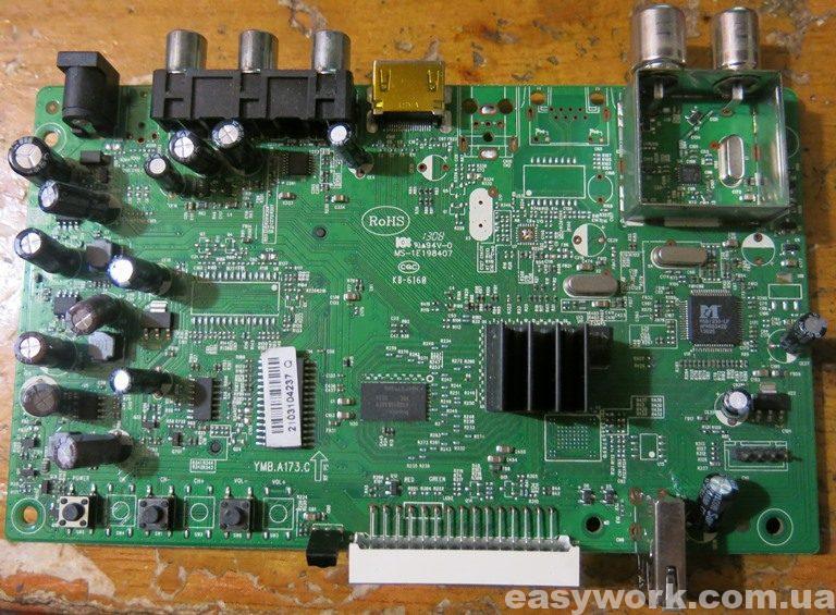 Внутреннее устройство Romsat RS-300