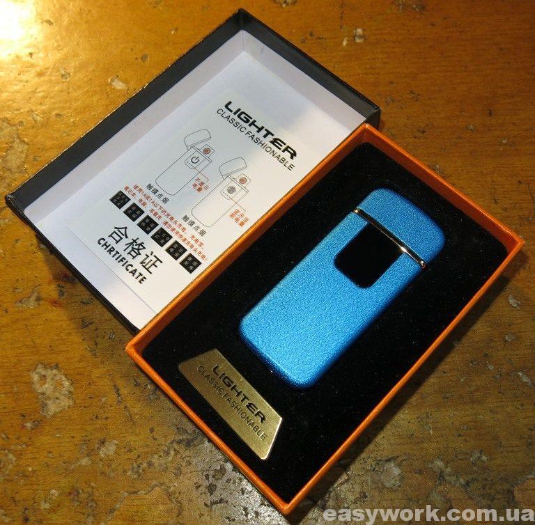 Внешний вид USB зажигалки LIGHTER