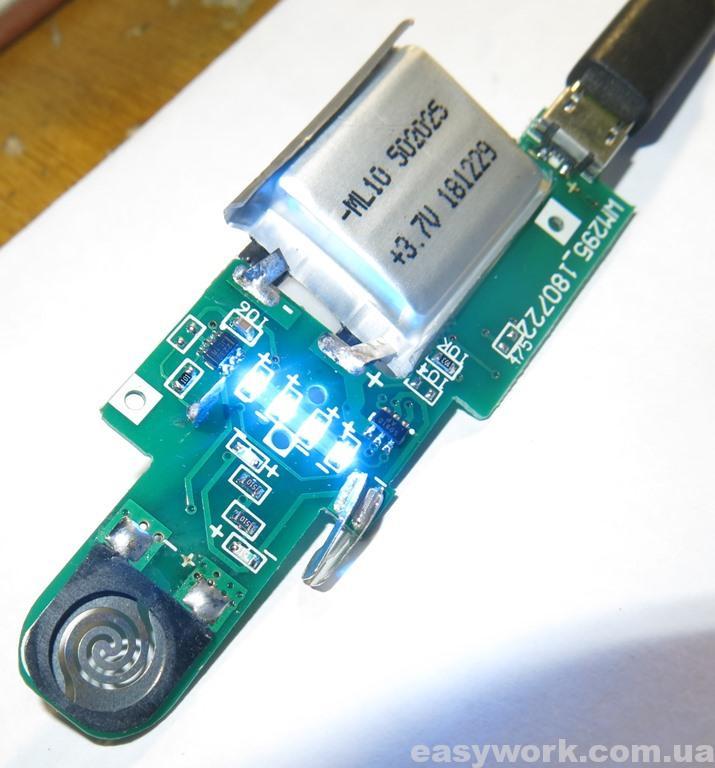 Заряд USB зажигалки LIGHTER
