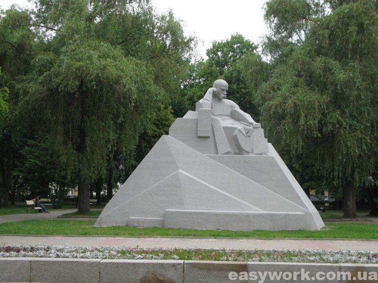 Памятник Тарасу Шевченко (г. Полтава)