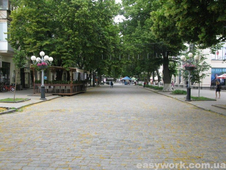 Улица Соборности (г. Полтава)