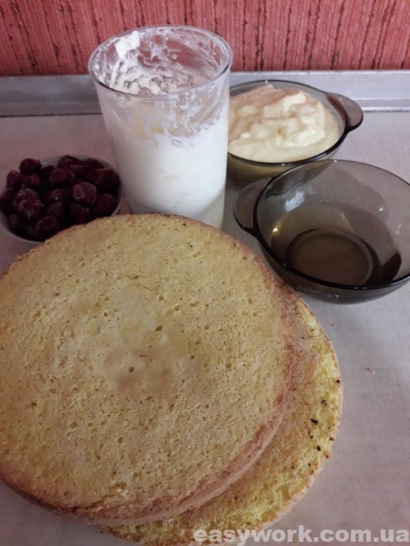 Заготовки для приготовления мастичного торта