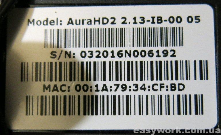 Наклейка AuraHD Plus (AuraHD2)