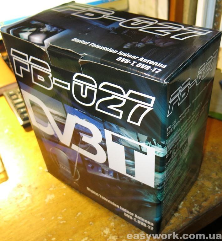 Упаковка антенны DVB-T FB-027