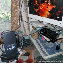 Ремонт антенны DVB-T FB-027 (гаснет светодиод)