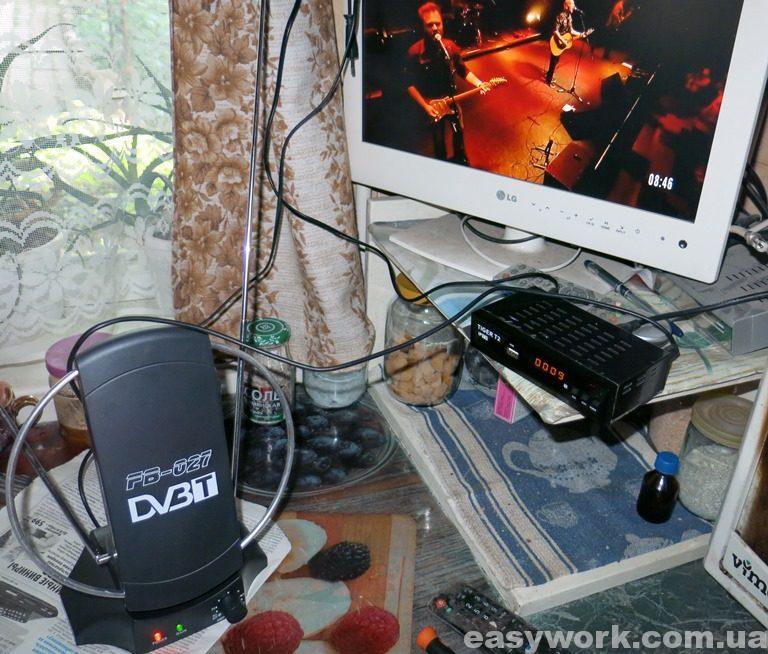 Отремонтированная антенна DVB-T FB-027
