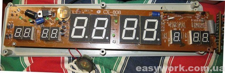 Плата часов CX-808
