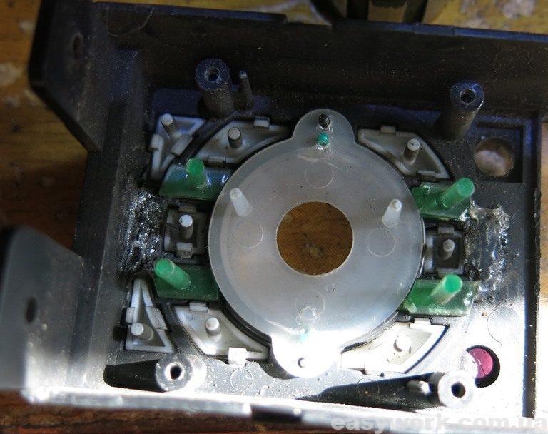 Пластмасса панели кнопок CYCLON MP-4010