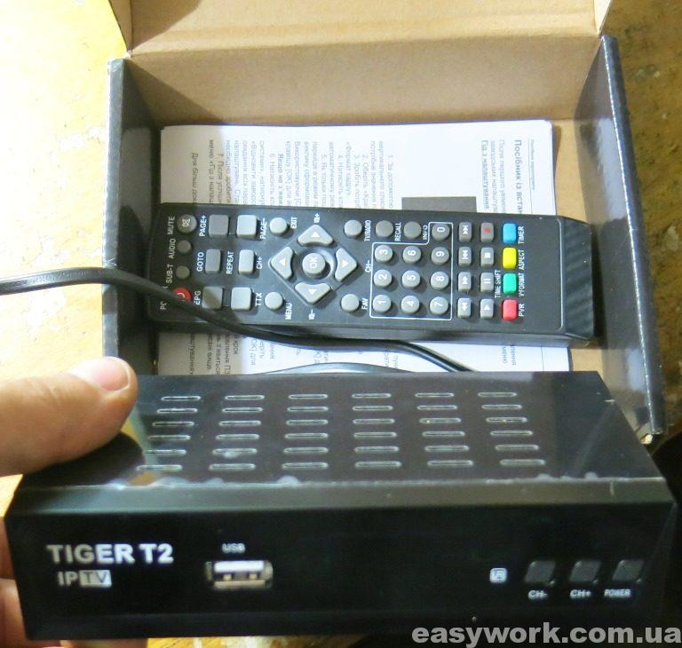 Приставка TIGER T2 IPTV