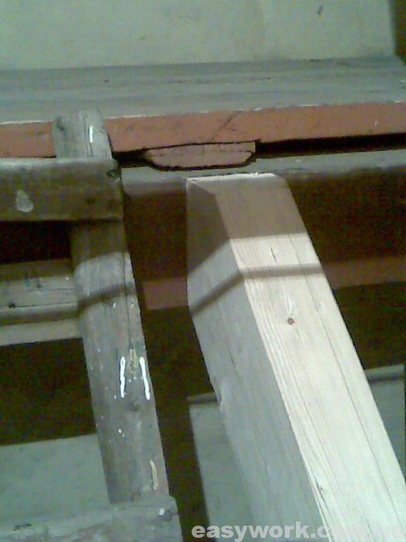 Стыковка балки с лестничной площадкой (фото 1)