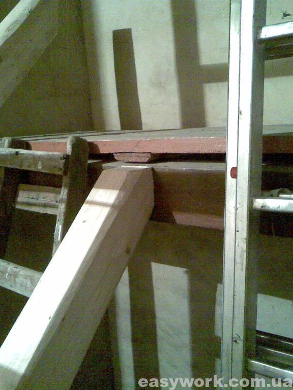 Стыковка балки с лестничной площадкой (фото 2)