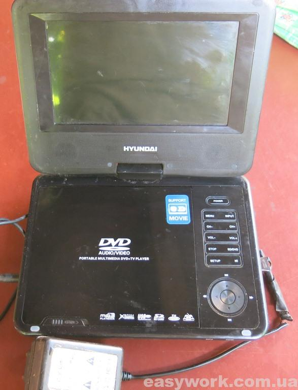 DVD проигрыватель HYUNDAI