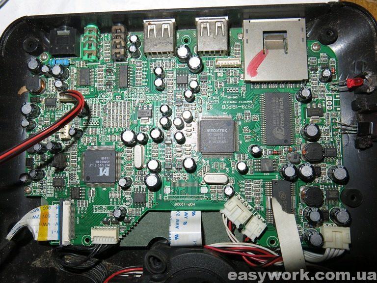 Плата DS78-1B.PCB board=1.2 2009.11.16