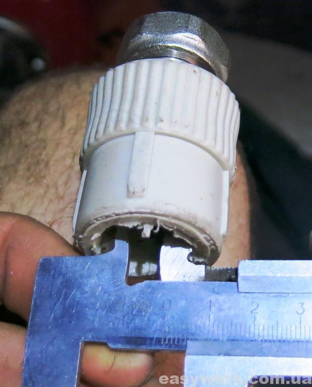 Внутренний диаметр пластикового фитинга