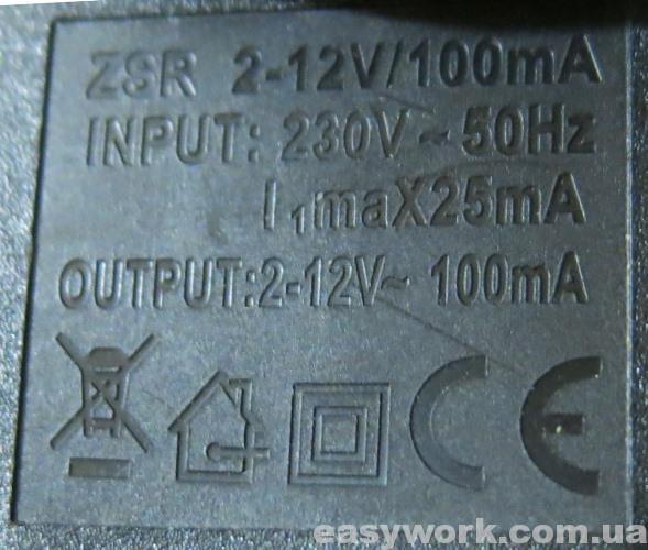 Характеристики регулируемых БП для антенн