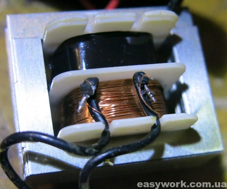 Трансформатор с оборванной вторичкой