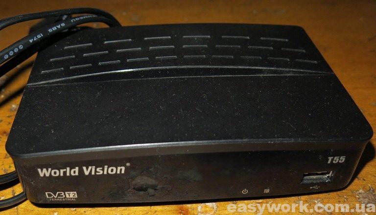 DVB-T2 приемник World Vision T55