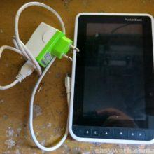 Ремонт электронной книги PocketBook A7 (замена разъема зарядки )