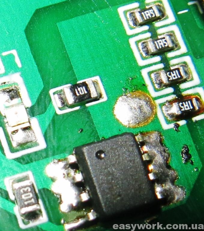 Номиналы резисторов на плате