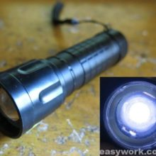 Ремонт фонаря WD190A — 50000W (слабо светит)