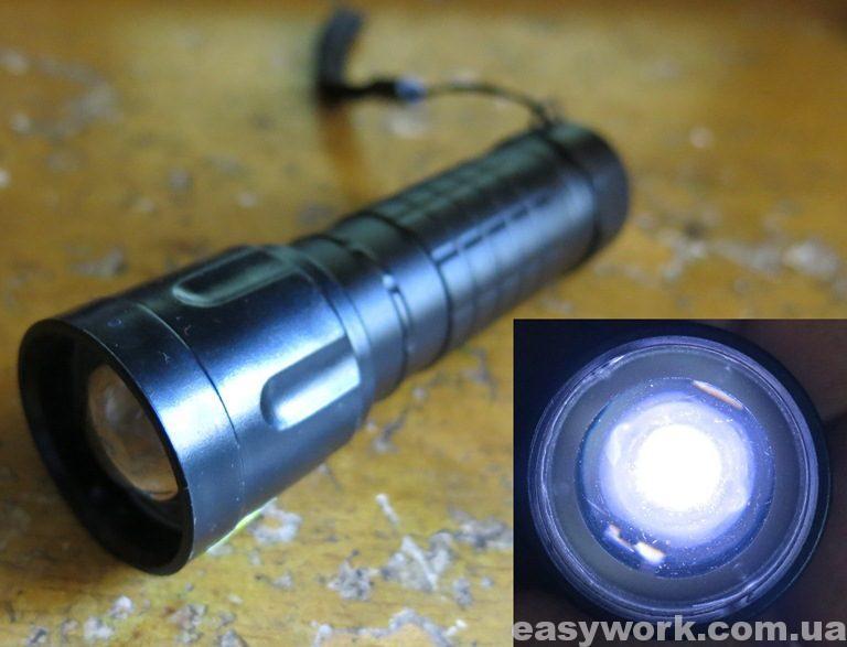 Тусклый свет фонаря WD190A - 50000W