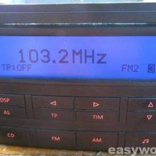 Ремонт магнитолы VW Delta 7L6 035 195D (нет звука)
