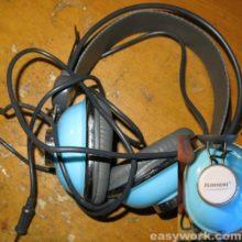 Ремонт наушников Kanen KM-740 Blue (обрыв)