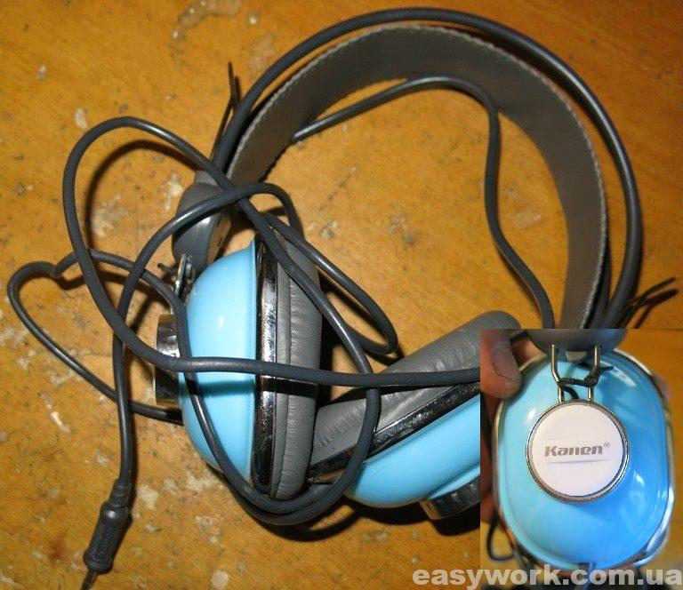Наушники Kanen KM-740 Blue