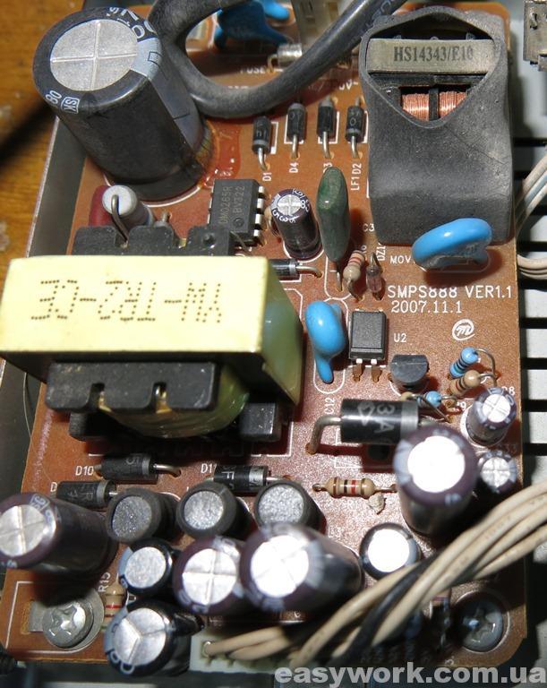 Блок питания SMPS888 ORTON 4100C