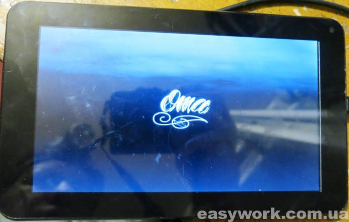 Прошивка Oma на планшете JEKA JK702