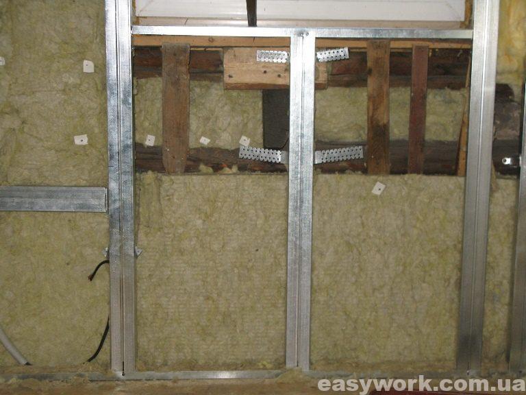 Утепление стен и потолка на втором этаже (фото 3)