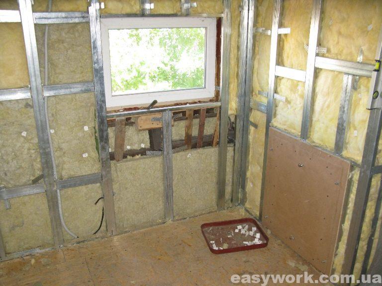 Утепление стен и потолка на втором этаже (фото 4)