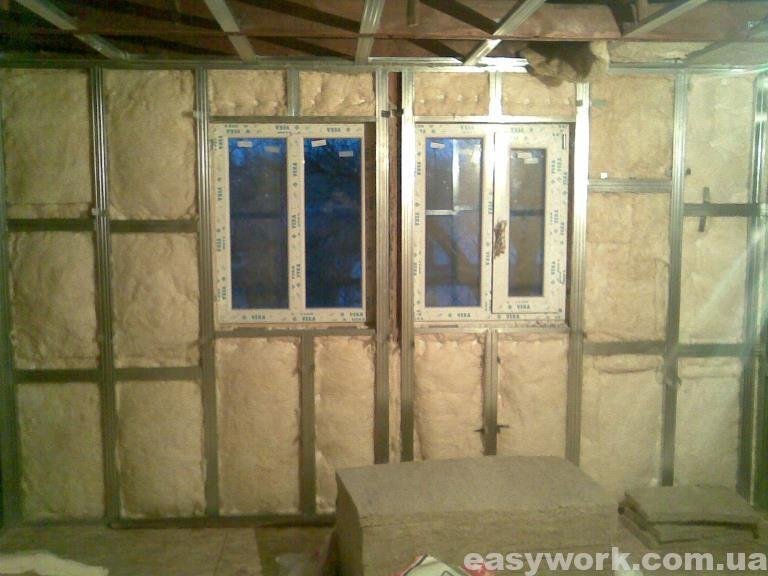 Утепление стен и потолка на втором этаже (фото 5)