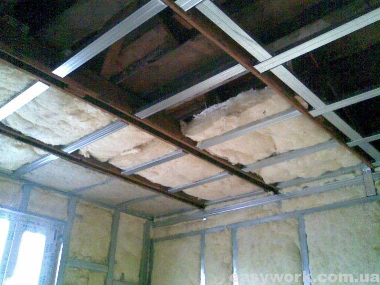 Утепление стен и потолка на втором этаже (фото 8)