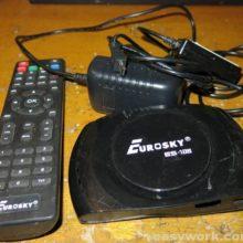 Ремонт спутникового тюнера EUROSKY ES-108HD (нет сигнала)