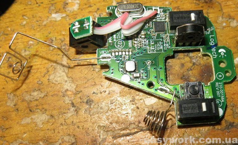 Плата мышки Logitech M171 (фото 2)
