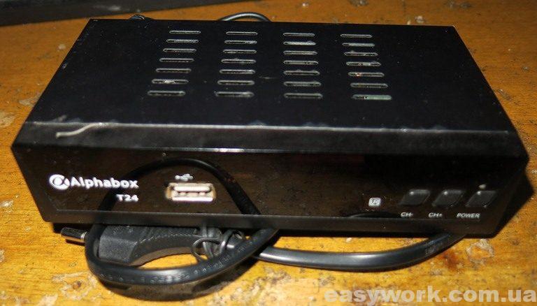 T2 ресивер Alphabox T24