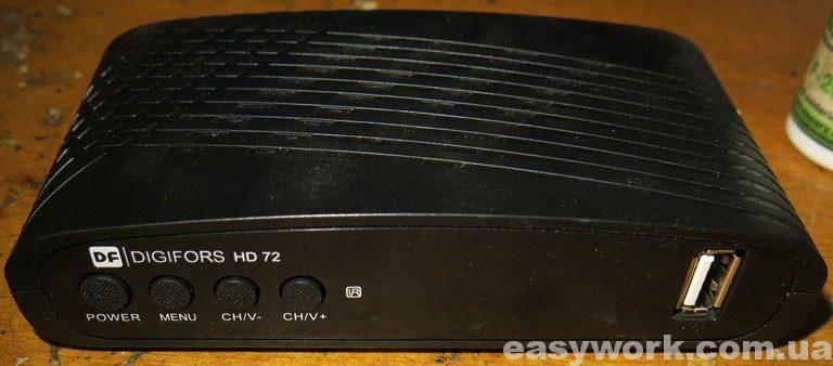 Т2-тюнер DIGIFORS HD 72 (фото 1)
