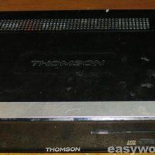 Ремонт Т2 тюнера THOMSON THT702 (не включается)